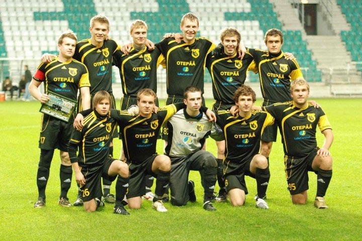 FC Otepää esindusmeeskonna peasponsor on Luku Centrum